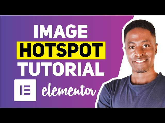 HOW TO ADD AN IMAGE MARKER IN ELEMENTOR FOR FREE (Showcase hotspots in your elementor website)