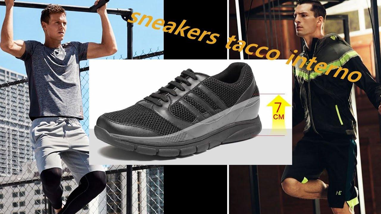 Chamaripa sneakers tacco interno scarpe rialzate uomo for Interno 1 scarpe