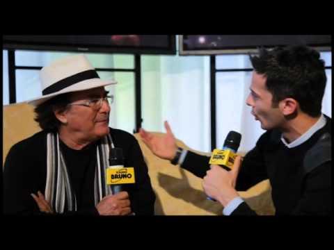 Albano Carrisi  Sanremo   per Radio Bruno