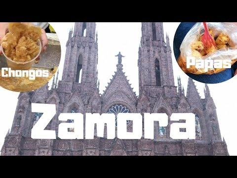 VISITANDO ZAMORA MICHOACÁN, el templo mas grande de todo MÉXICO Catedral, Chongos...