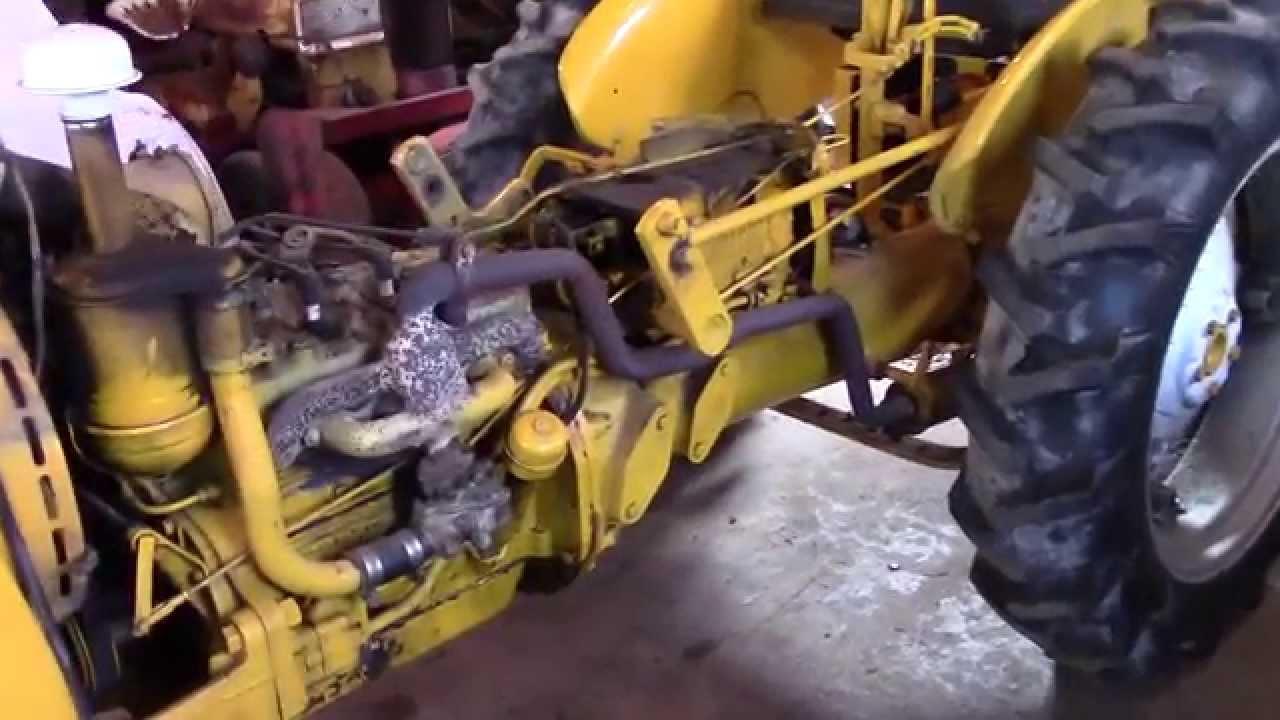 1968 International Cub Lo-Boy Repairs Part 1