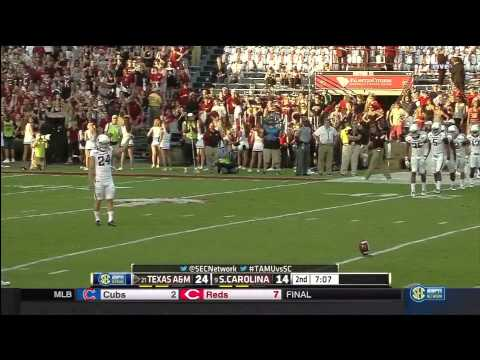 Texas A&M vs South Carolina 2014