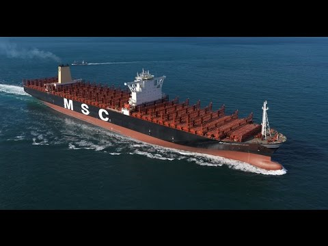 MSC Oscar - Largest container ship in the world