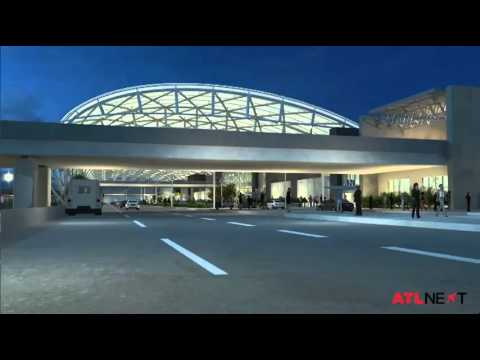 RAW: Atlanta airport rendering video