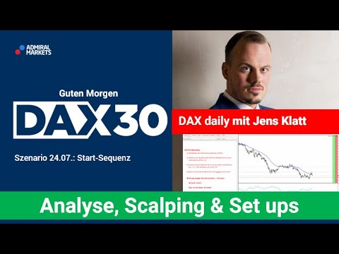 DAX aktuell: Analyse, Trading-Ideen & Scalping | DAX30 | CFD Trading | DAX Analyse | 24.07.2020