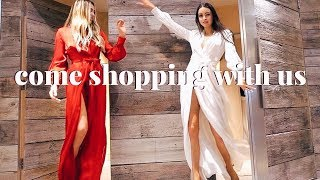 COME SHOPPING WITH US AND TRY ON IN STORE | STYLE DIARIES | EMMA MILLER