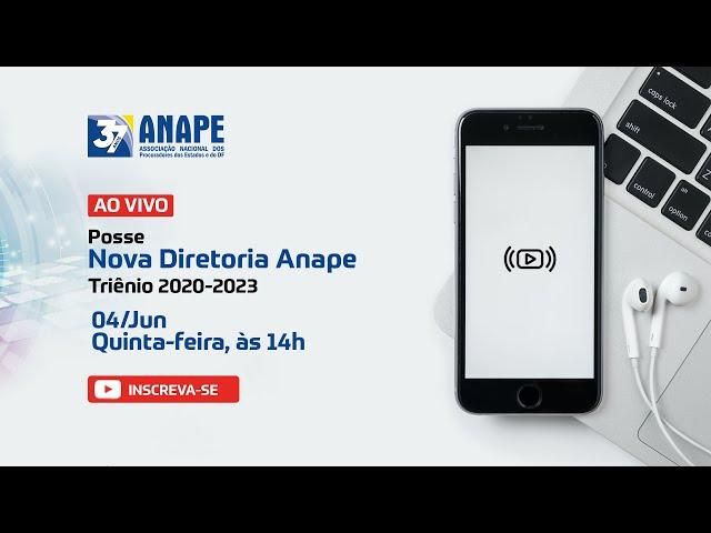 Posse Nova Diretoria Anape - Triênio 2020-2023