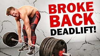 2 Reasons Why You'll Never Deadlift Over 405lbs   NEVER EVER!!