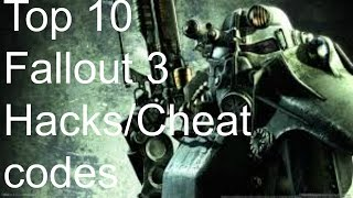 Top 10 Fallout 3 Hacks Cheat Codes