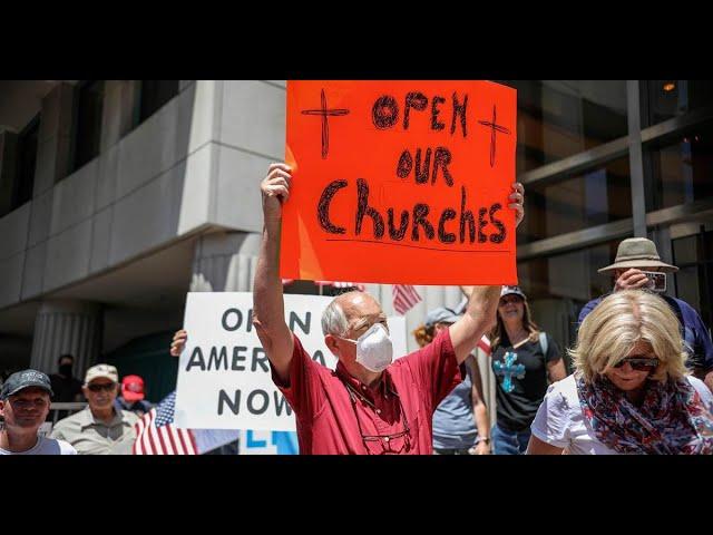 Freedom of Religion Under Attack. Casinos + Walmarts Open, Churches Closed (w Bishop Aubrey Shines)