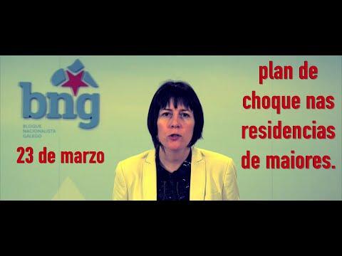Plan de choque nas residencias de maiores