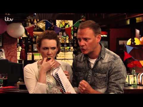 Coronation Street - Sean And Fiz Convince Hayley To Sing Karaoke