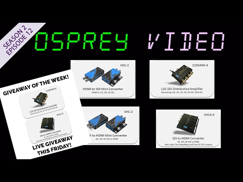 Osprey Video Capture Devices - Talon G1 Encoder - 4K and 12G HD-SDI