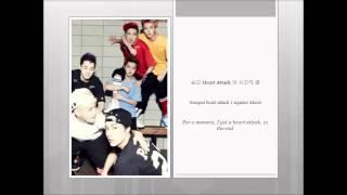 [EXO K] Heart Attack (Han. Rom. Trans)