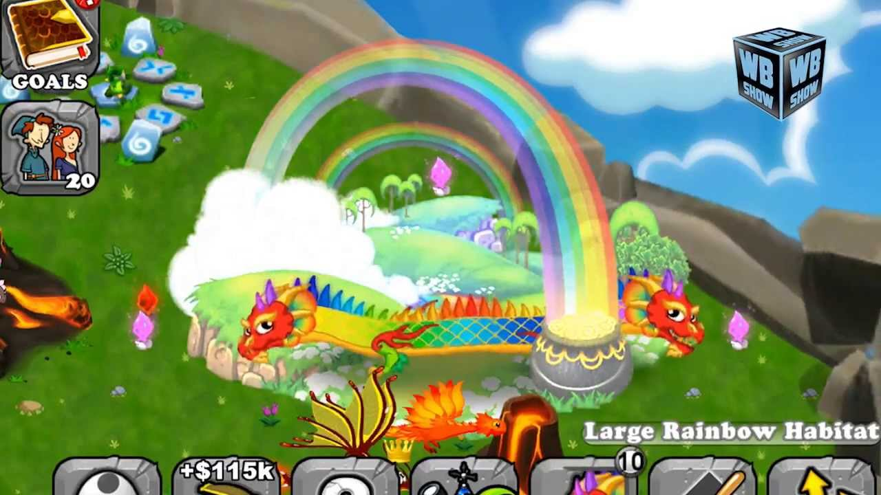 How To Breed Double Rainbow Dragon 100 Real Dragonvale Explained Youtube
