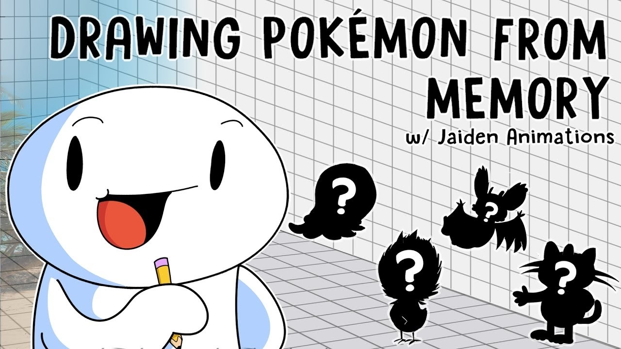 Uncategorized Pokémon Drawings drawing from memory w jaiden animations youtube animations