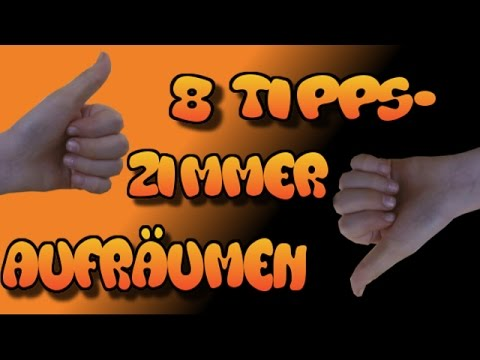 dein zimmer schnell und effektiv aufr umen 8 tipps youtube. Black Bedroom Furniture Sets. Home Design Ideas