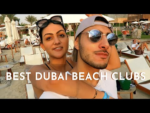 Trying Out The Beach Clubs In Dubai (Rixos, JBH & FIVE) | Farah Amber Vlog 30
