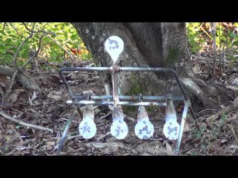 Shooting my Spinning Metal Target