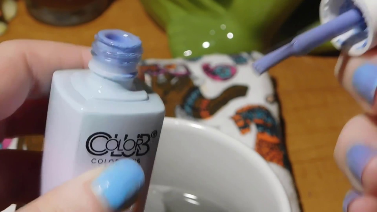 Color Club Mood Changing Nail Lacquer Youtube