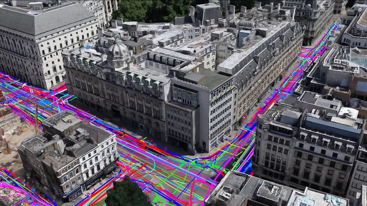 Utility Mapping in London - YouTube