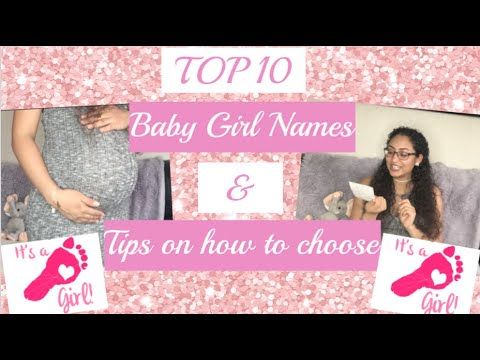 🍼Top 10 Cute & Unique Baby Girl Names (in Spanish) &Tips On How To Choose Baby Names 🍼