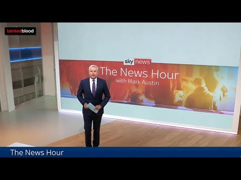SKY News : 24th September 2018 - The Infected Blood Inquiry - Update