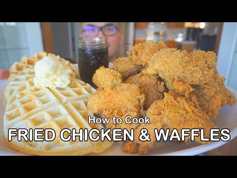 how-to-cook-fried-chicken-&-waffles