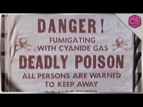 DEATH BY CYANIDE POISONING