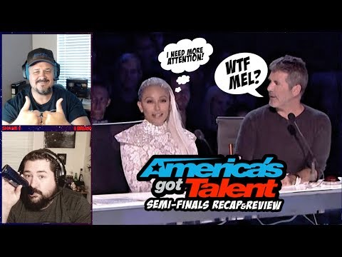 AGT Semi-Finals 2: Mel B tries to eliminate 9 year old contestant