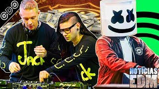 Gambar cover Noticias de JACK Ü, Tomorrowland, DJs Más Pagados, Drama de Swedish House Mafia, Nuevo Spotify y más