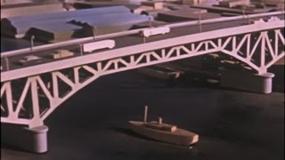 Granville Bridge - a 1954 City of Vancouver film about the construction of the bridge