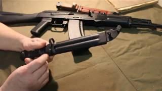 АК-74, порядок неполной разборки и сборки. Часть 1.