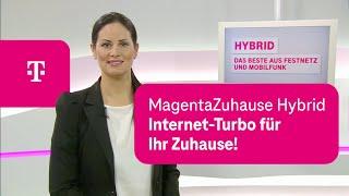 Telekom: MagentaZuhause Hybrid – Der Internet-Turbo für Ihr Zuhause!