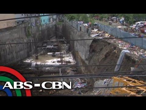 5 sugatan sa pagguho ng hukay sa tinatayong gusali sa Parañaque | TV Patrol