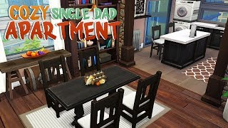 COZY SINGLE DAD APARTMENT   The Sims 4   Apartment Renovation Speed Build