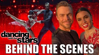 BEHIND THE SCENES of our DWTS Performance - Derek Hough and Hayley Erbert's Dayley Life