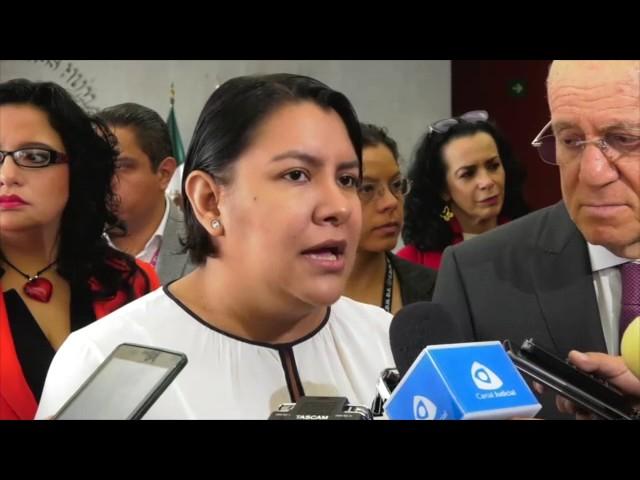 Entrevista a la Dra. Perla Gómez al término de la firma de convenio CDHDF - INVEA