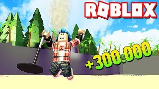 BUSCANDO TESOROS EN LA PLAYA | ROBLOX METAL DETECTING SIMULATOR |