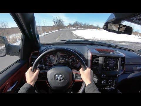 2019 RAM 1500 Rebel 5.7L V8 4WD Crew Cab - POV Test Drive (Binaural Audio)