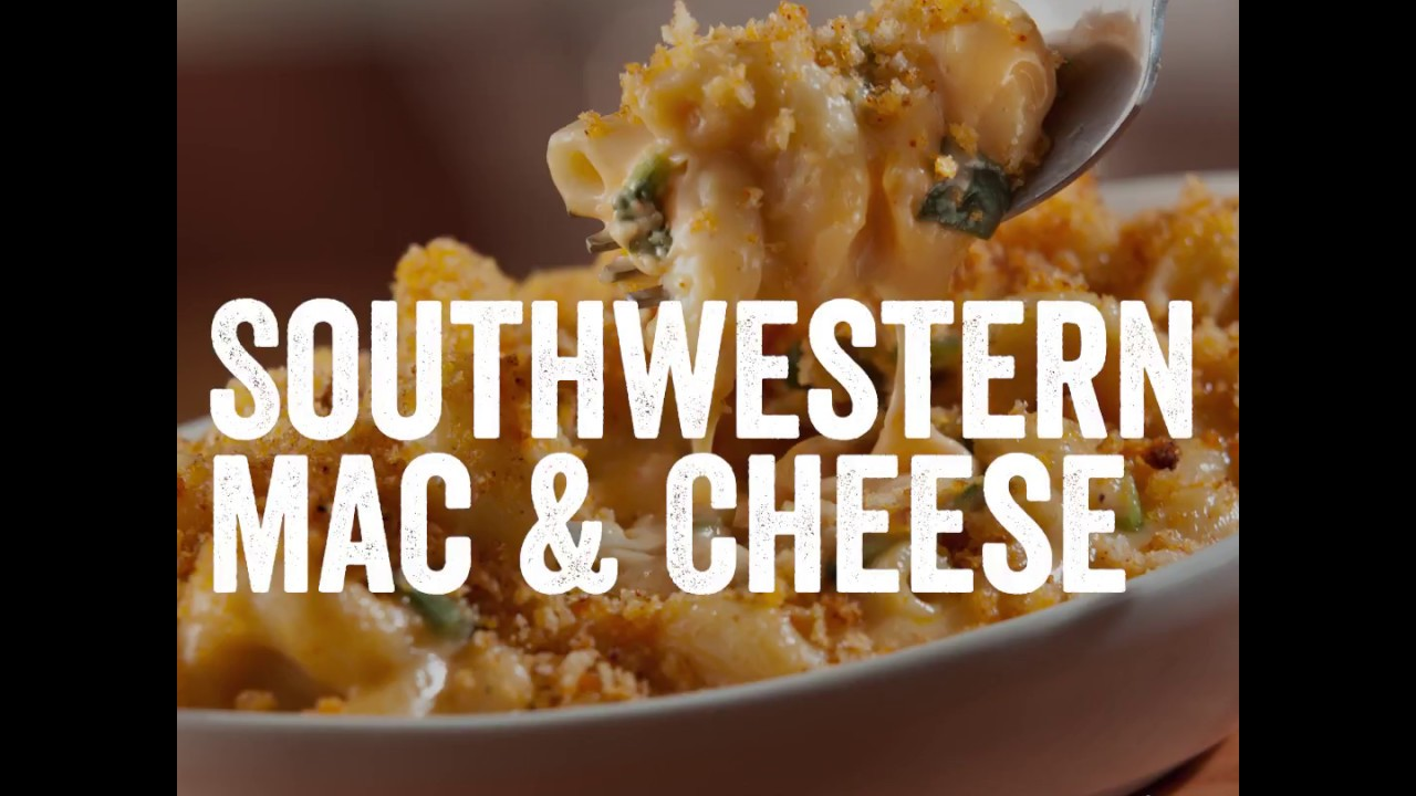 chilis southwestern mac and cheese ingredients