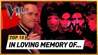 HEARTWARMING tributes to musical ICONS in 10 YEARS of The Voice