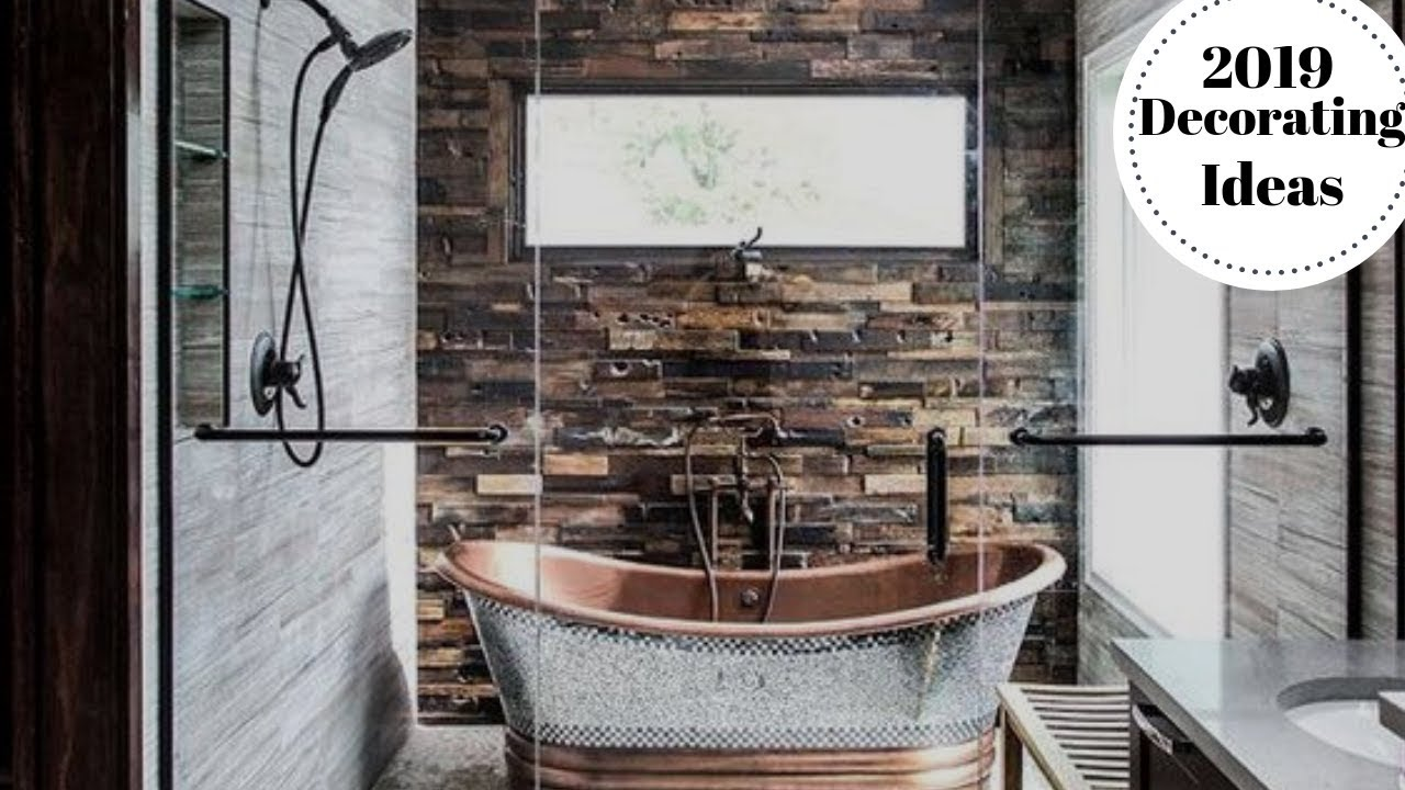 Amazing 2019 Bathroom Design Trends Ideas Youtube