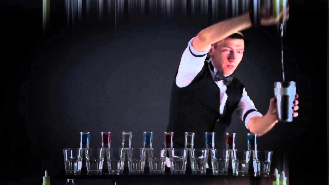 шоу барменов видео