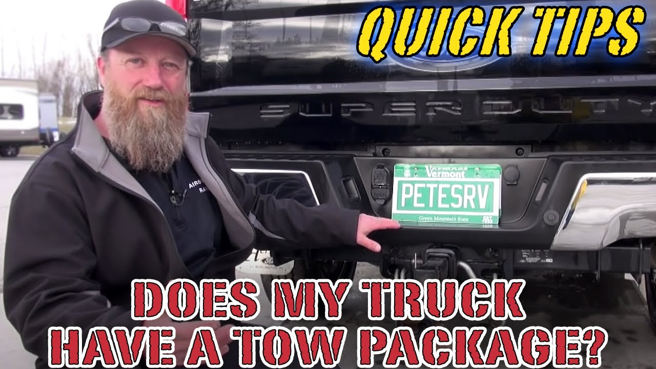 does my truck have a tow package pete s rv quick tips [ 1280 x 720 Pixel ]