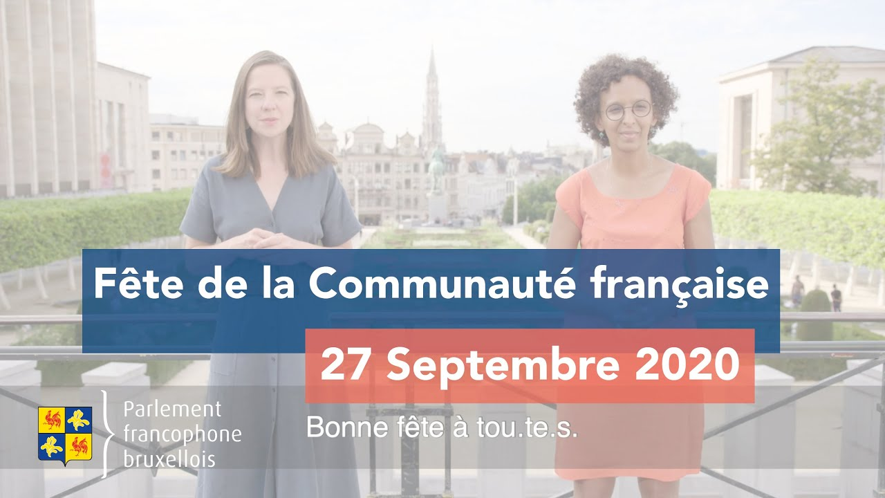 27 septembre 2020 - Bonne fête de la Communauté française!