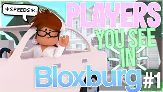 PLAYERS YOU SEE IN BLOXBURG! (Which Player Are You?)