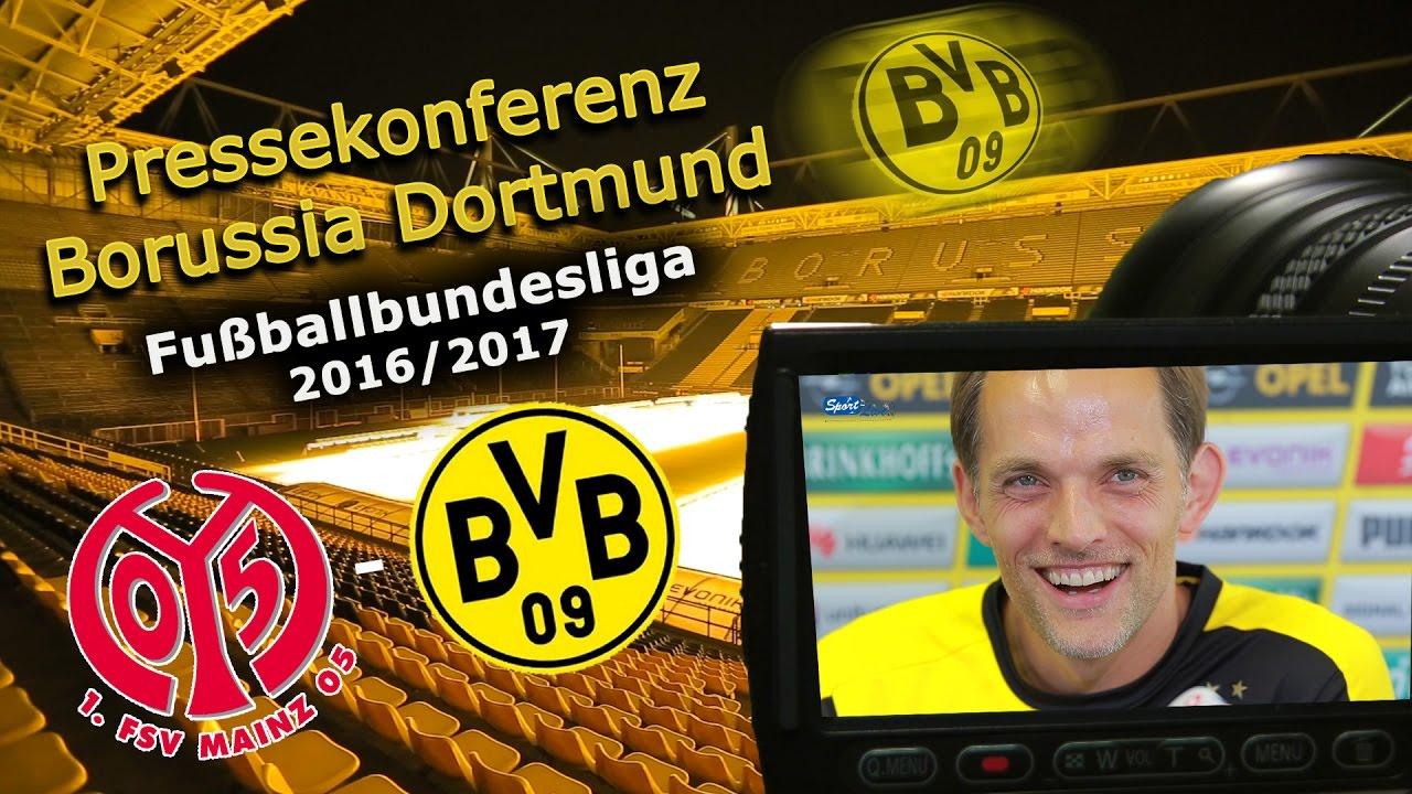 1. FSV Mainz 05 - Borussia Dortmund: Pk mit Thomas Tuchel