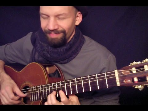 (Walking After Midnight) Patsy Cline - fingerstyle acoustic cover by Daryl Shawn