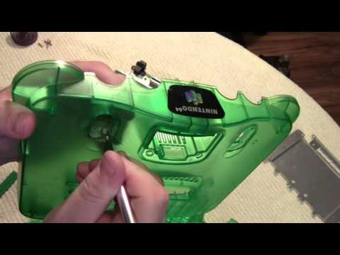 Nintendo 64 Restore and cleaning